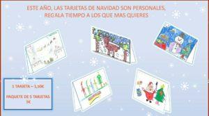 ¿Recuerdas tus navidades cuando eras pequeñ@?? Escuchar villancicos, decorar el árbol en familia, poner la bandeja de turrones, escribir tarjetas de Navidad... No pierdas la costumbre. Regalate tiempo. Felicita la Navidad!!